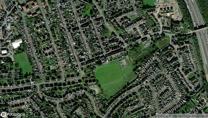Brigg Infant School satellite image