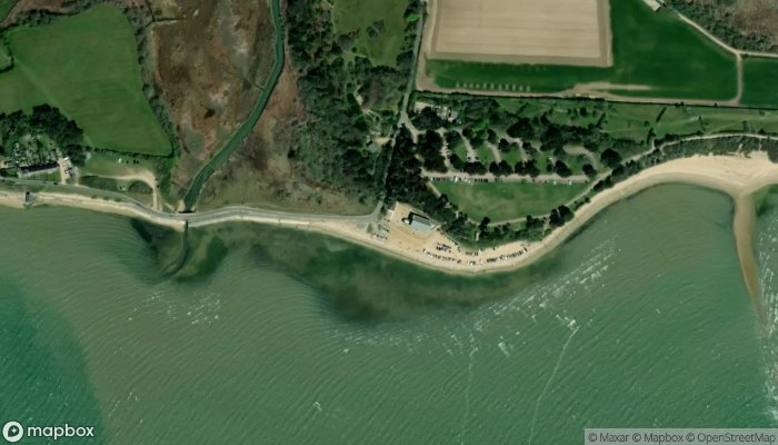 Lepe Country Park Cafe satellite image