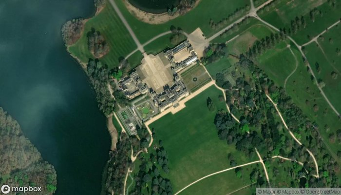 Blenheim Palace satellite image