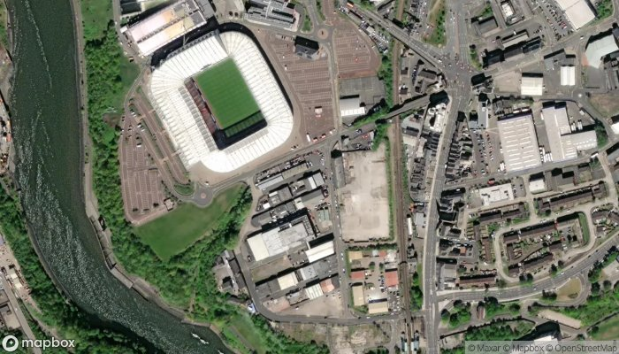 Stadium Trade Frames satellite image