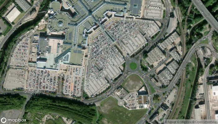 Meadowhall Red Car Park satellite image