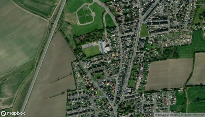 Barnsley Taxicall satellite image