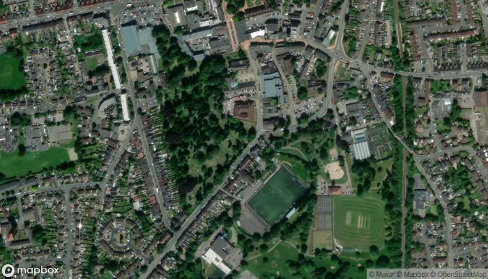 Coventry Road Cemetery satellite image
