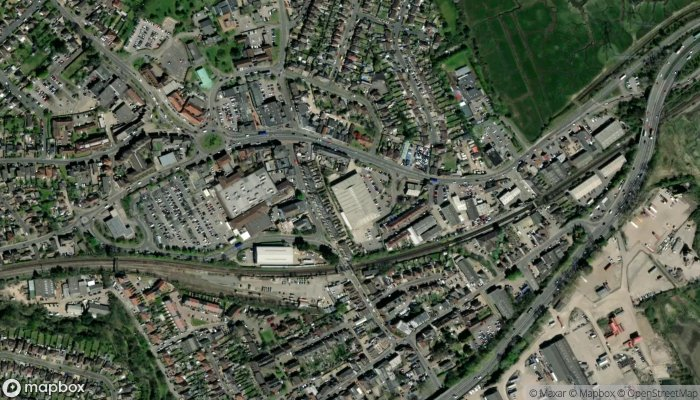 Poundstretcher satellite image