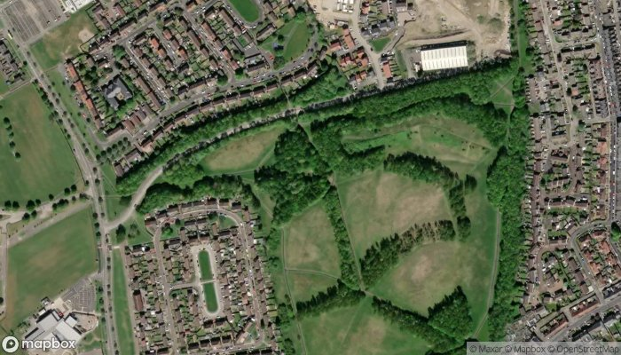 St Bede S Well satellite image