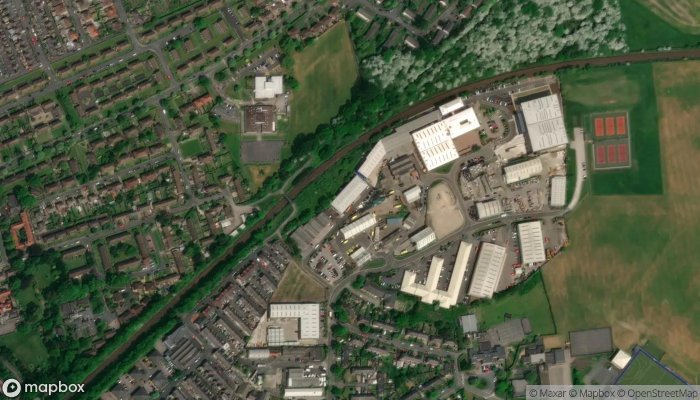 Harrogate Autocentre satellite image