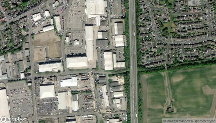 Toolstation Durham satellite image