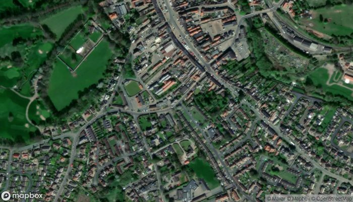 Bedale Health Clinic satellite image