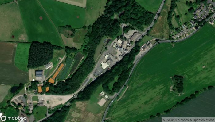 National Coal Mining Museum For England satellite image
