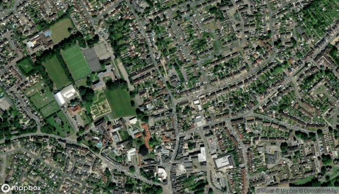 Dr W E Laird Northlands Surgery satellite image