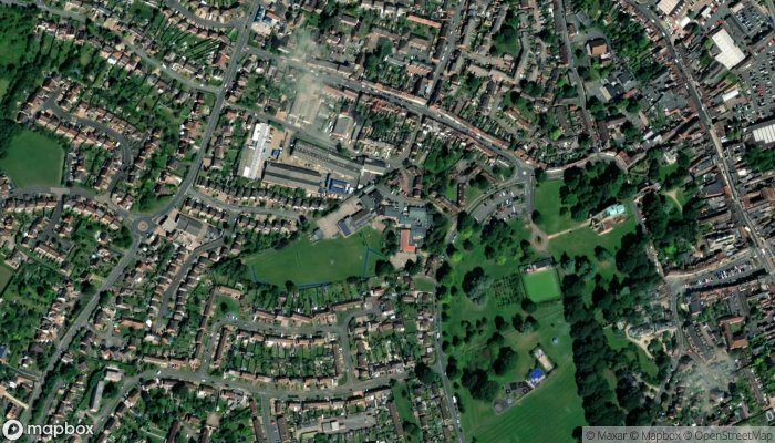 Abbey Park Middle School satellite image