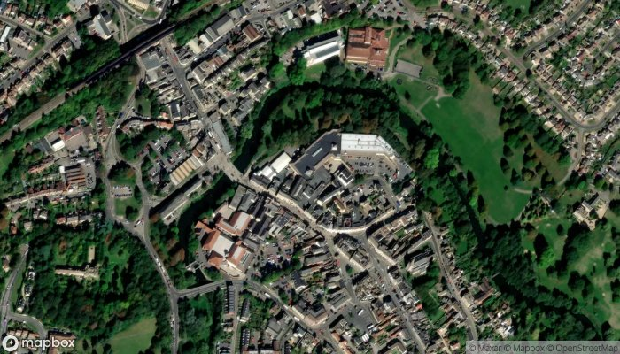 F Hinds The Jewellers satellite image