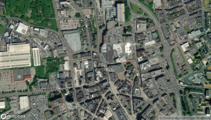 The Body Shop satellite image