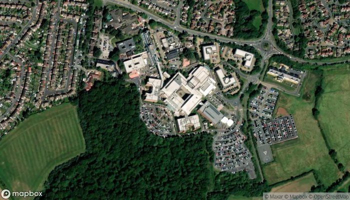 Rowlands Library satellite image