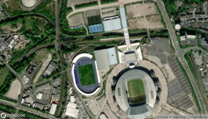 Manchester City Fc satellite image