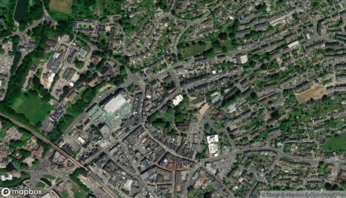 Stroud Library satellite image