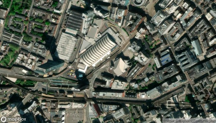 Entrance Ncp Car Parking Lower Mosley St satellite image
