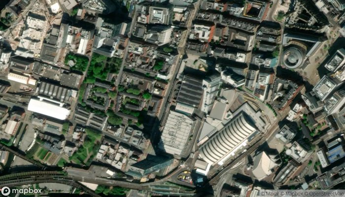 Capital Physio Deansgate satellite image