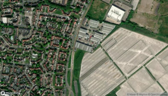 Thrifty Car And Van Rental Manchester Airport satellite image