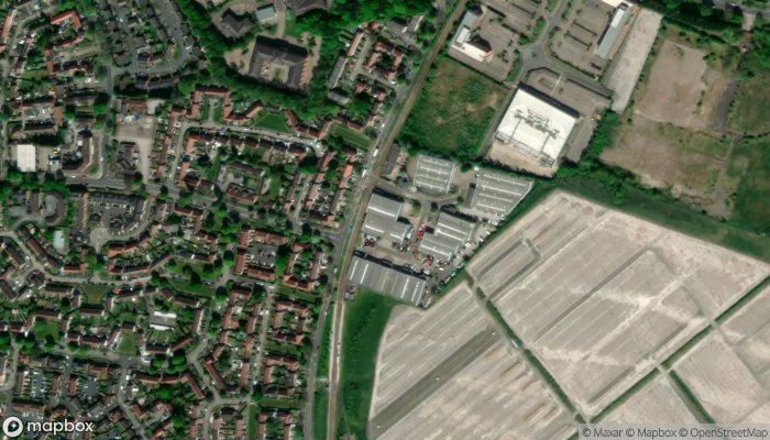 Easirent Car Hire Manchester Airport satellite image