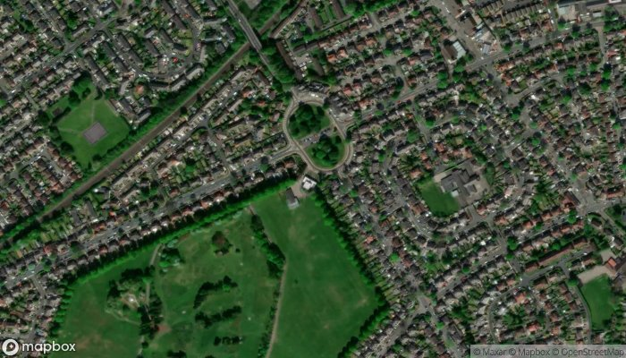 Potters House Church Manchester satellite image