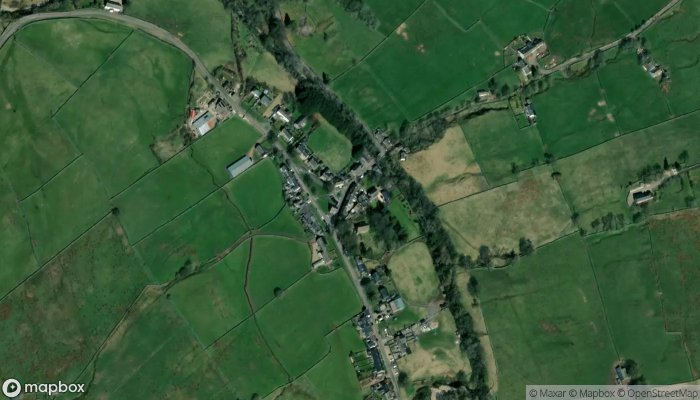 The George Dragon Inn satellite image