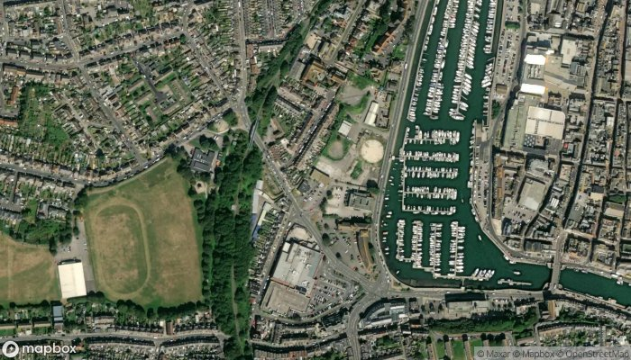 Active Fitness Club Weymouth satellite image