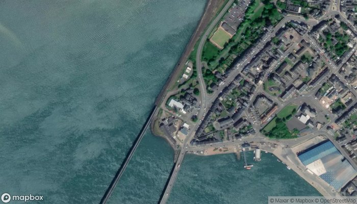 Montrose Royal Infirmary satellite image