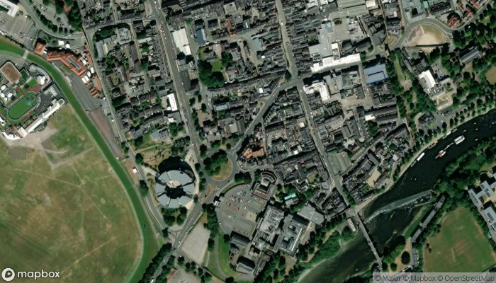 West Cheshire Magistrates satellite image