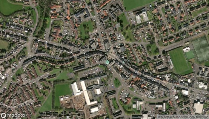 Tranent Library satellite image