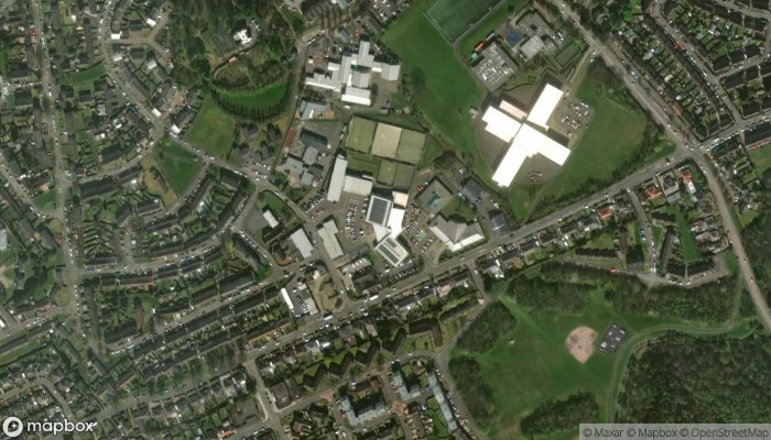 Edinburgh Tae Kwon Do satellite image