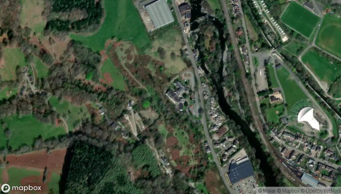 The Wild Pheasant Hotel Spa satellite image