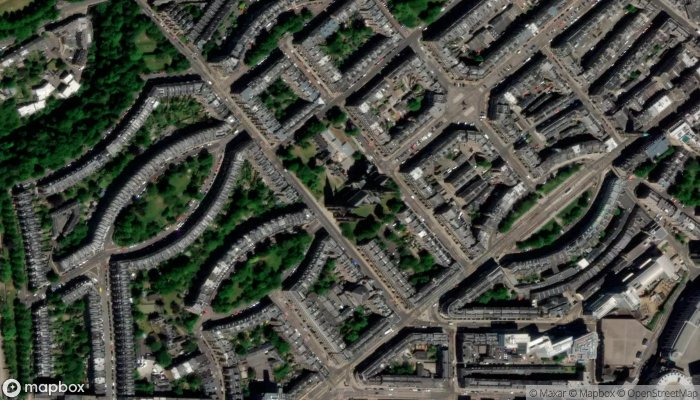 St Marys Cathedral satellite image