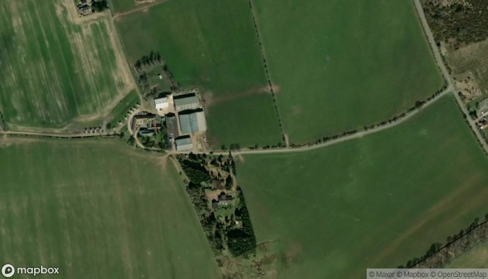 Hilly Cow Wigwams satellite image