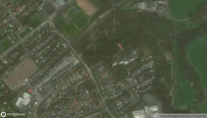 Wester Moffat Hospital satellite image