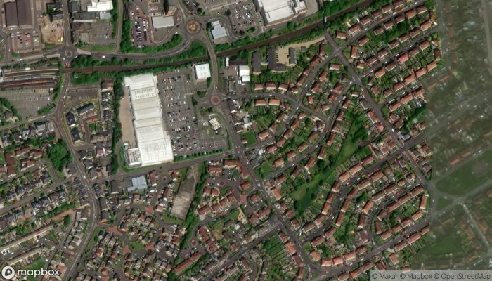 Lucky Gate satellite image