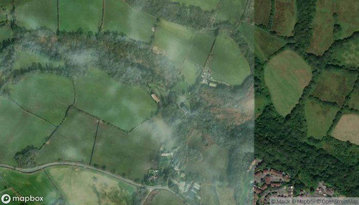 Duffryn Farm Cottages satellite image
