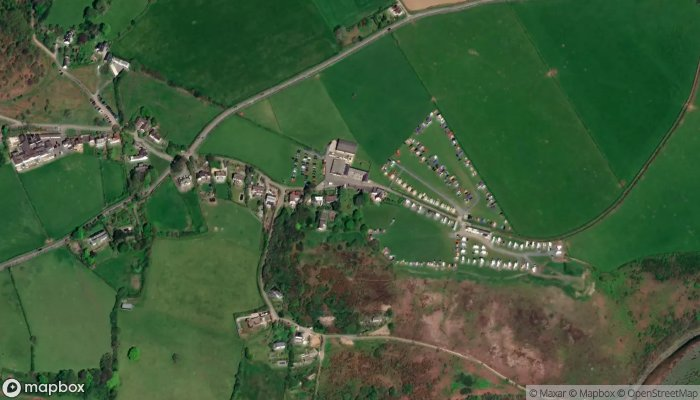 Three Cliffs Bay Holiday Park satellite image