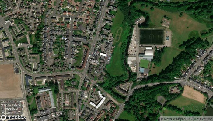 West Of Scotland Housing Association satellite image