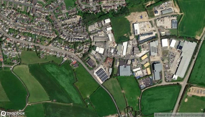 Howdens Joinery Bude satellite image