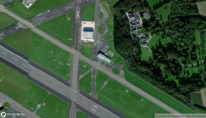Newquay Airport Fire Station satellite image