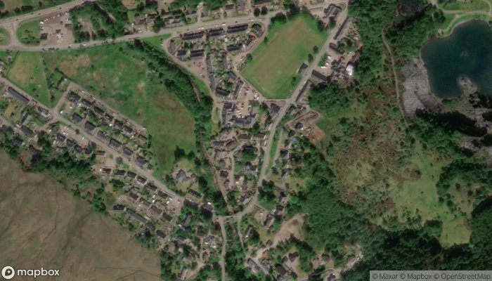 Ardachy Cottage satellite image