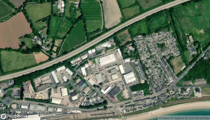 Penzance Gymnastics Club satellite image