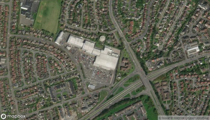 Tesco Superstore satellite image