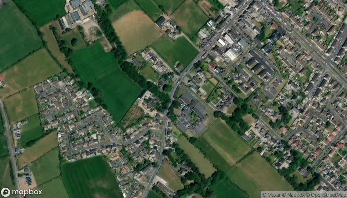 St Colman S Primary School satellite image