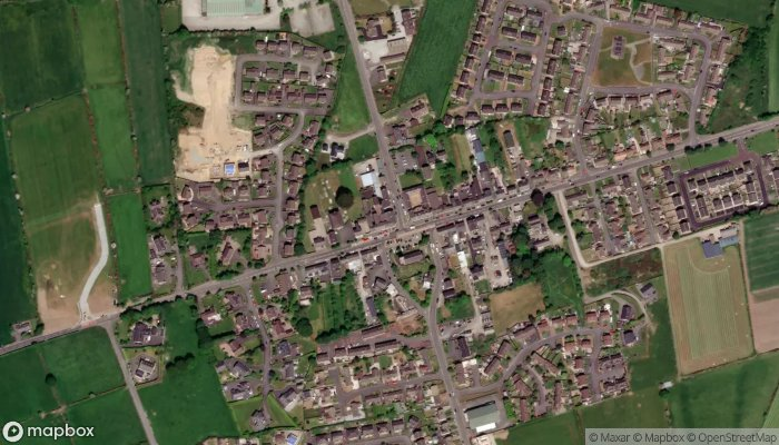 The Downshire Arms Hilltown satellite image