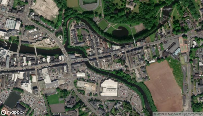 Perfect Pizza Chinese Takeaway satellite image