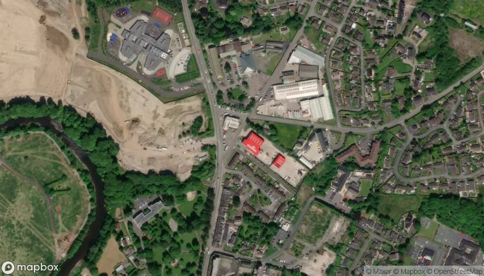 Omagh Fire Station satellite image