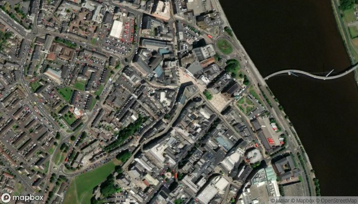 The Scullery Cafe satellite image