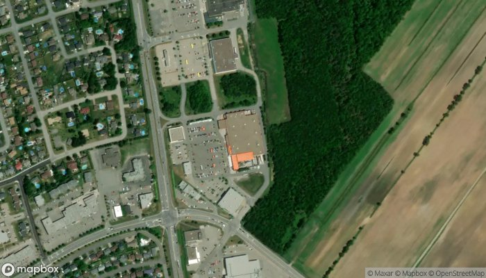 The Home Depot satellite image